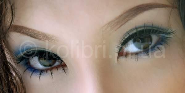 Азиатский разрез глаз